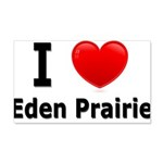 I Love Eden Prairie 22x14 Wall Peel