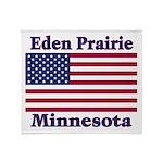 I Love Eden Prairie Throw Blanket