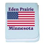 I Love Eden Prairie baby blanket