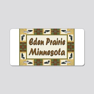 Eden Prairie Loon Aluminum License Plate