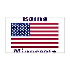 Edina Flag 22x14 Wall Peel