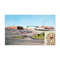 1950's Southdale Mall 22x14 Wall Peel