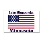 I Love Lake Minnetonka Car Magnet 20 x 12