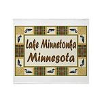 I Love Lake Minnetonka Throw Blanket