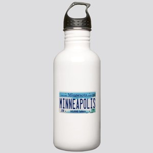 Minneapolis License Stainless Water Bottle 1.0L