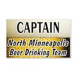 Minneapolis Beer Drinking Tea Car Magnet 20 x 12