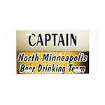 Minneapolis Beer Drinking Tea Aluminum License Pla