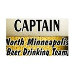 Minneapolis Beer Drinking Tea 38.5 x 24.5 Wall Pee