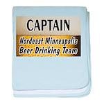 Minneapolis Beer Drinking Tea baby blanket