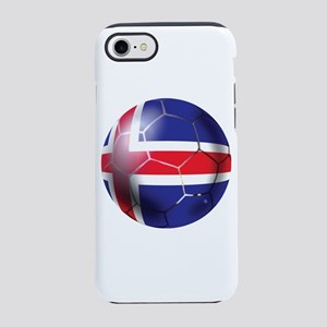 Iceland Soccer Ball iPhone 7 Tough Case