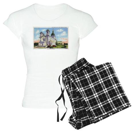 1935 Basilica of St. Mary's Women's Light Pajamas