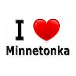 I Love Minnetonka 38.5 x 24.5 Wall Peel