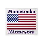 I Love Minnetonka Throw Blanket