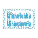 Minnetonka Minnesnowta 38.5 x 24.5 Wall Peel