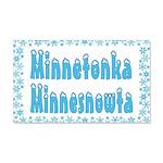Minnetonka Minnesnowta 22x14 Wall Peel