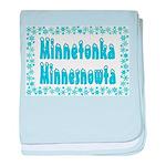 Minnetonka Minnesnowta baby blanket