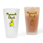 I Love Plymouth Drinking Glass