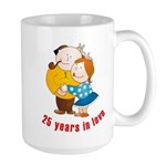 In Love Large Mug