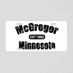 McGregor Established 1882 Aluminum License Plate