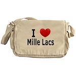 I Love Mille Lacs Messenger Bag