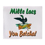 Mille Lacs You Betcha Throw Blanket
