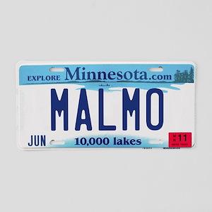 Malmo License Plate Aluminum License Plate