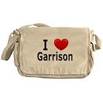 I Love Garrison Messenger Bag
