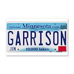 Garrison License Plate Car Magnet 20 x 12