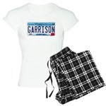 Garrison License Plate Women's Light Pajamas