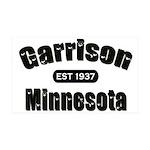 Garrison Established 1937 38.5 x 24.5 Wall Peel