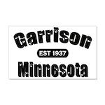 Garrison Established 1937 22x14 Wall Peel
