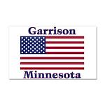 Garrison US Flag Car Magnet 20 x 12