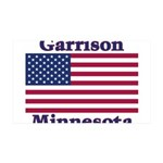 Garrison US Flag 38.5 x 24.5 Wall Peel