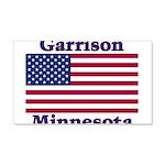Garrison US Flag 22x14 Wall Peel
