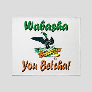 Wabasha You Betcha Throw Blanket
