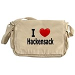 I Love Hackensack Minnesota Messenger Bag