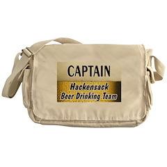 Hackensack Beer Drinking Team Messenger Bag