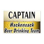 Hackensack Beer Drinking Team 22x14 Wall Peel