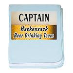 Hackensack Beer Drinking Team baby blanket