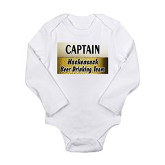 Hackensack Beer Drinking Team Long Sleeve Infant B