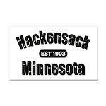 Hackensack Established 1903 Car Magnet 20 x 12