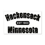 Hackensack Established 1903 22x14 Wall Peel