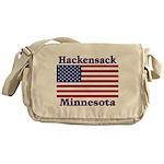 Hackensack US Flag Messenger Bag