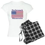 Hackensack US Flag Women's Light Pajamas