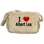 I Love Albert Lea Messenger Bag