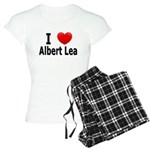 I Love Albert Lea Women's Light Pajamas
