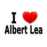 I Love Albert Lea 38.5 x 24.5 Wall Peel