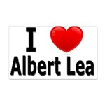I Love Albert Lea 22x14 Wall Peel