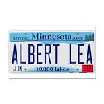 Albert Lea License Plate Car Magnet 20 x 12