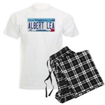 Albert Lea License Plate Men's Light Pajamas